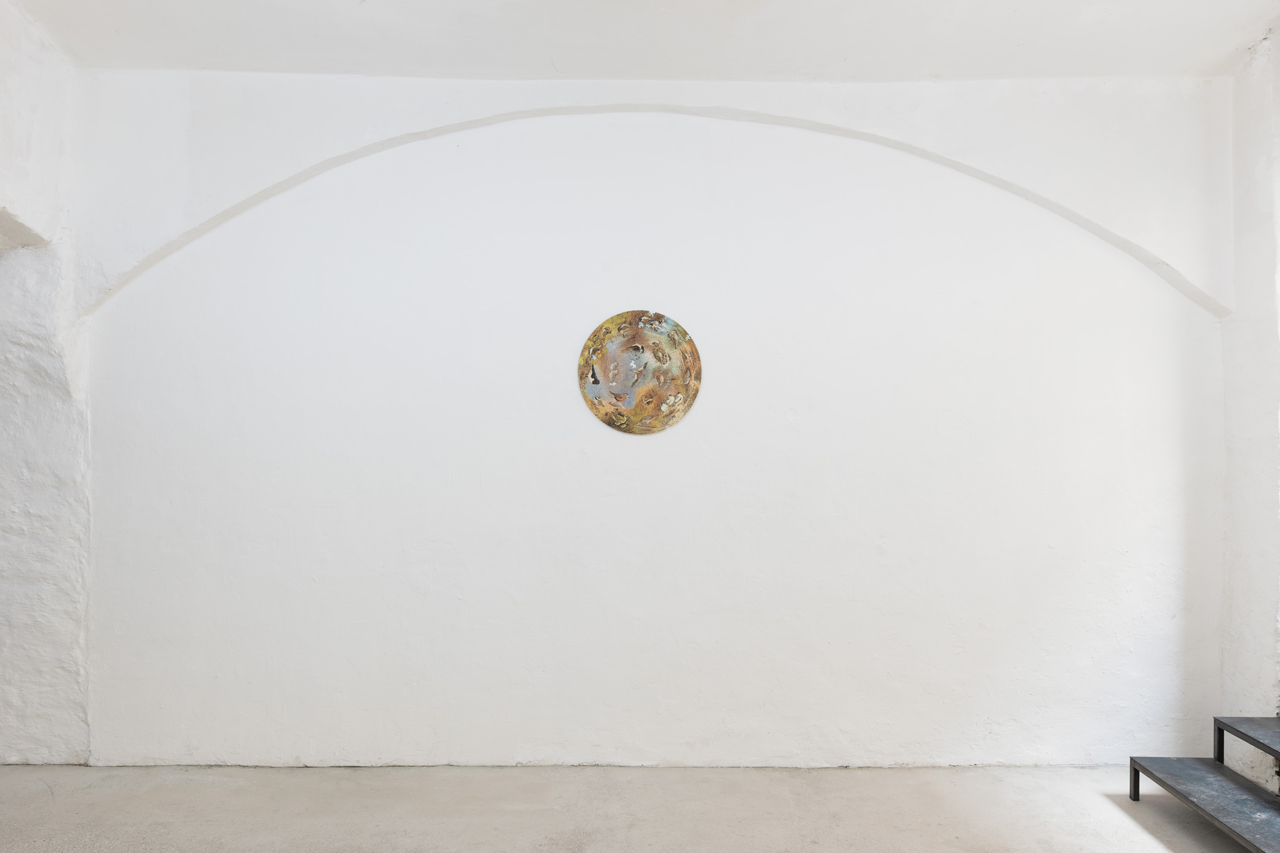 Emily Jones: All god's children could be led astray - installation view by Maximilian Anelli-Monti
