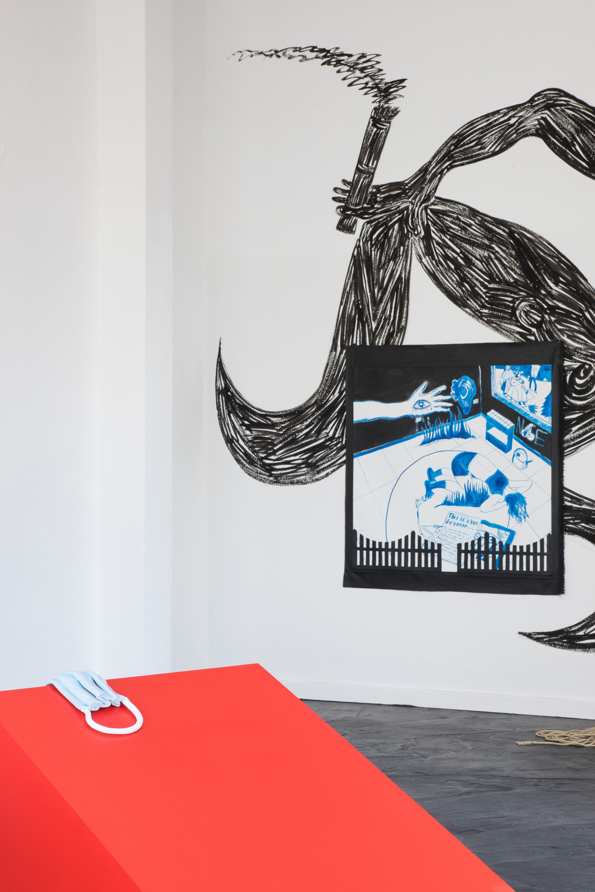 Not Safe for Work, Installation view, 2020.