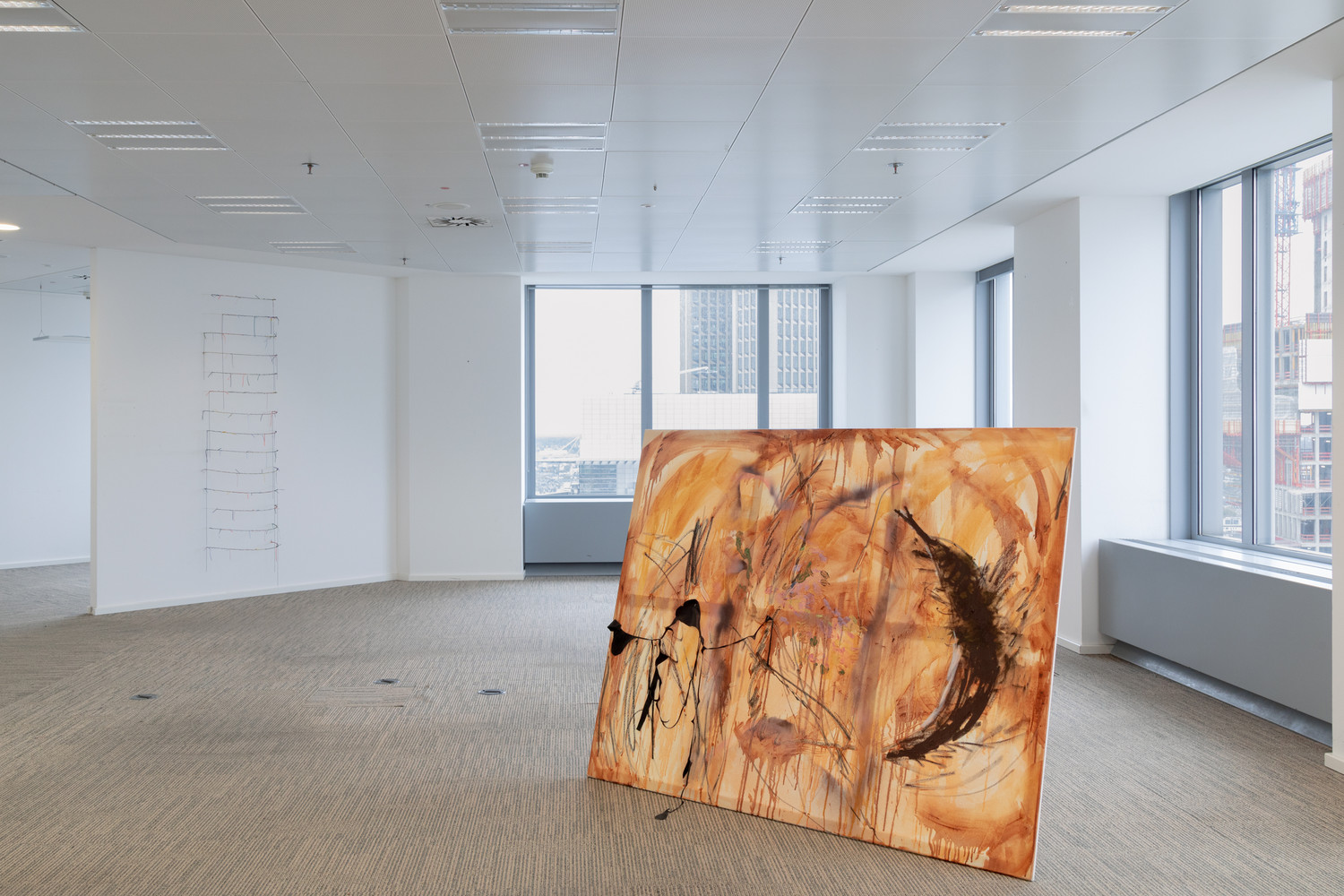 Orbit, Installation View. Work in the image: Cemil Tsegay.