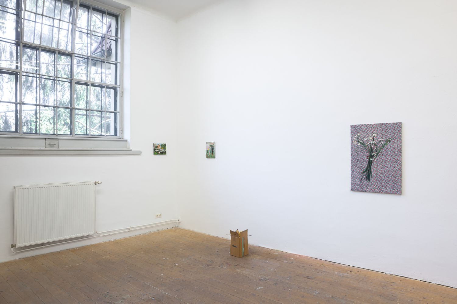 Myles Starr – With Great Pain Comes Great Chicken – Installation View